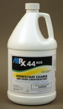 RX 44 ACE, hospital grade disinfectant, kills mrsa,