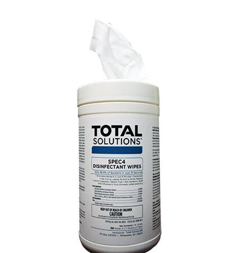 spec4 disinfectant wipes