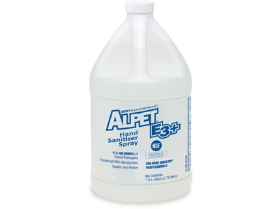Alpet E3 Plus,HAND SANITIZER SPRAY