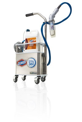 Clorox 360 elelectrostatic sprayer, Clorox anywhere Hard surface sanitizing spray