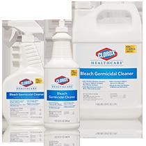 Clorox RTU Bleach, Clorox Healthcare products