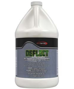 Deflect keeps snow and ice from sticking