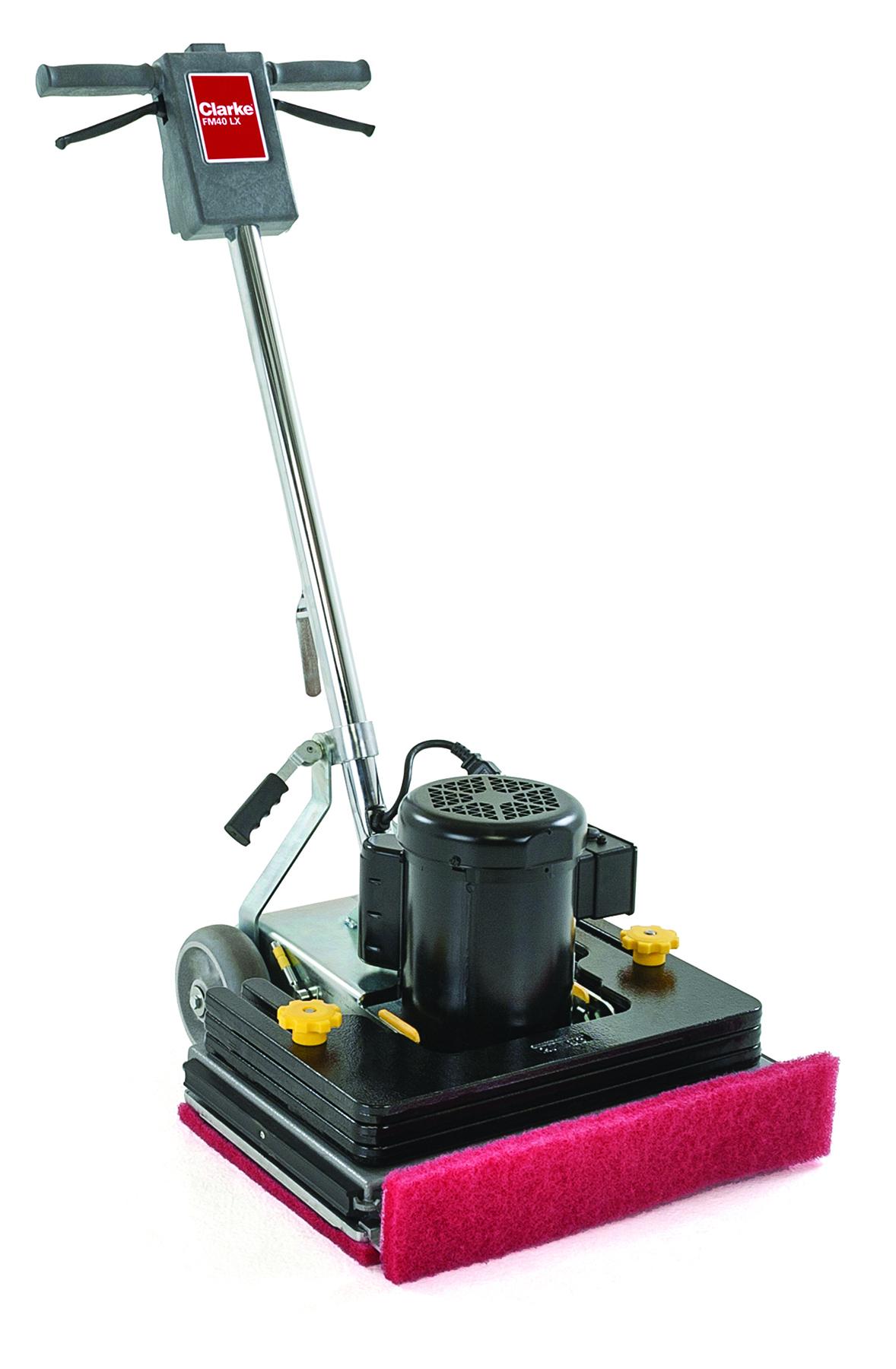 FM40 LX orbital scrubbing floor machine, fm40 st clarke machine