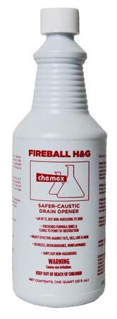 fireball caustic drain opener non irritating to skin