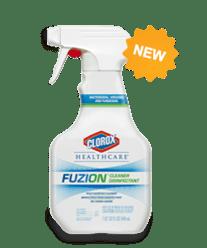 Fuzion Disinfectant kills c. diff in 2 minutes