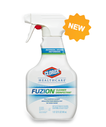 Fuzion, kills c diff, cleaner disinfectant spray, kills clostridium difficele spores