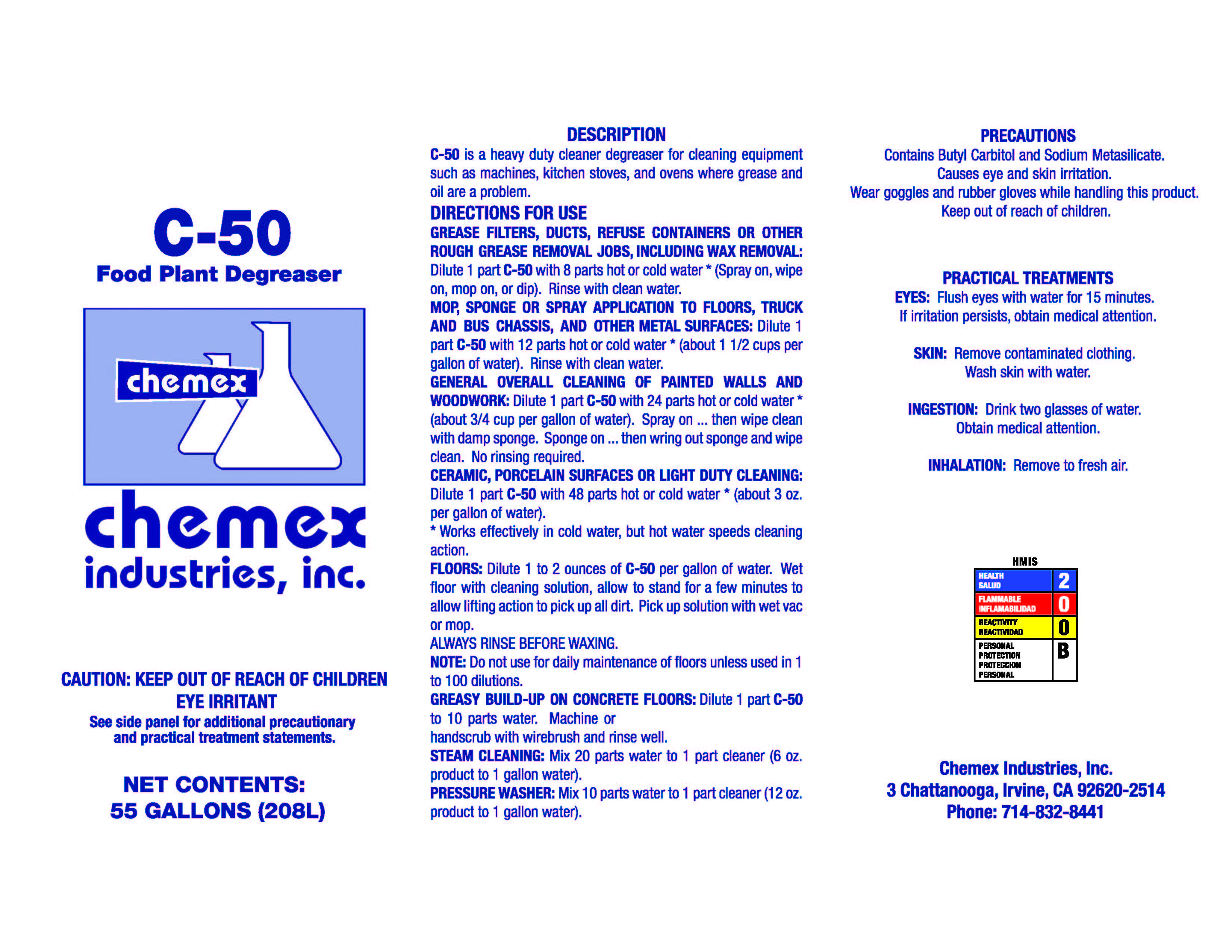 c 50 plant food degreaser