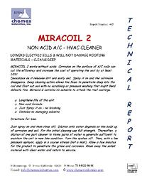 miracoil 2 coil cleaner