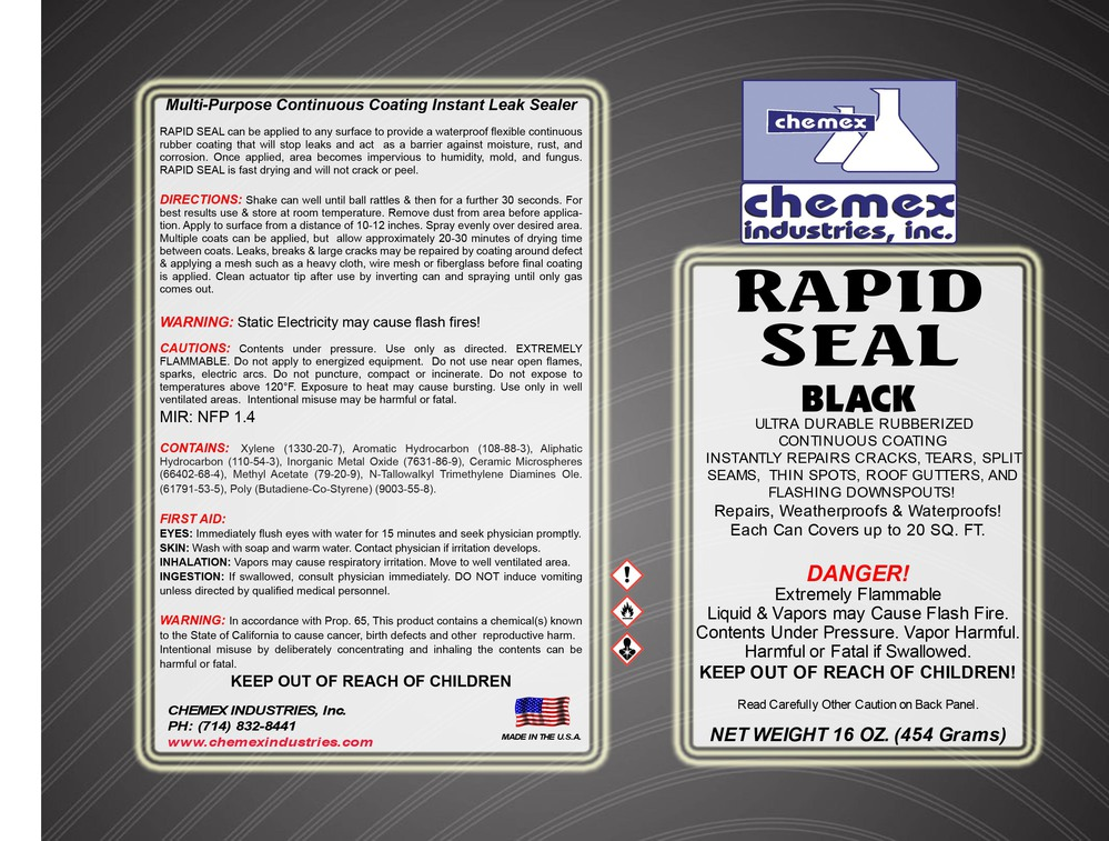 rapid seal a aerosol roof patch and leak sealer