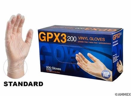 GPX3 Vinyl pf Industrial gloves