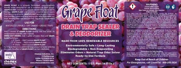 drain trap sealer and deodorizer, urinal sealant