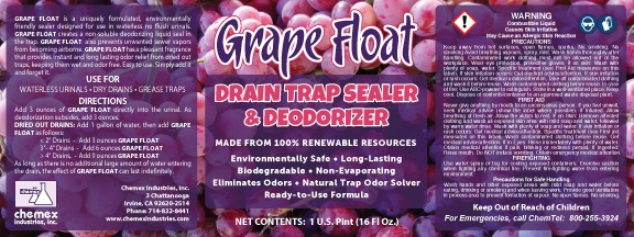 GRAPE FLOAT Grape Float Urinal Sealant - Non-Soluble Deodorizing Sealant