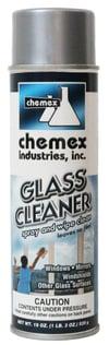 no streak no film glass cleaner aerosol, pleasant fragrance