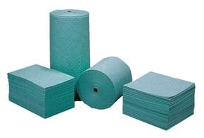 Hazmat pads and rolls, spill kit