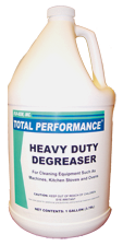 Heavy Duty Degreaser, cleans grease