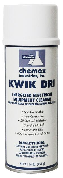 energized electrical equipment cleaner