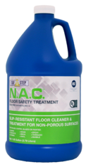 increases slip resistance, floor cleaner and safety treatment