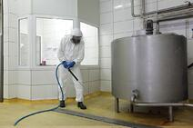 food plant degreaser, clorinated foaming cleaner degreaser