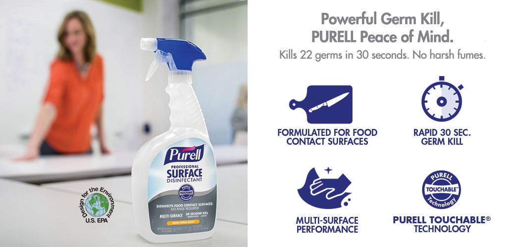 PURELL surface disinfectant