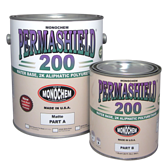 Polyurethane urine resistant for use in animal kennels