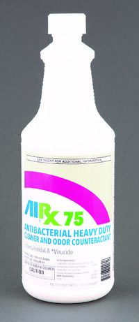 antibacterial  heavy duty cleaner and odor counteractant