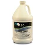 RX-80, sanitizing carpet rug cleaner, odor control