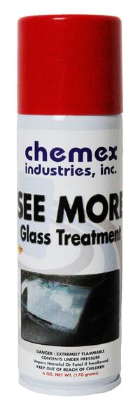 repels hard water, glass treatment will improve your visibility