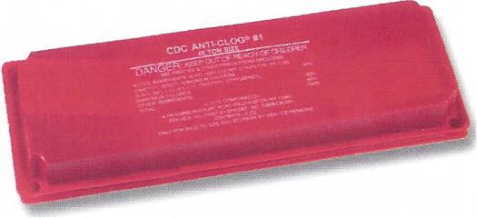 THE BRICK condensate drain pan treatment, anti-clog 45 tons, anti clog brick