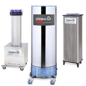 UVairo air scrubber air disinfectant