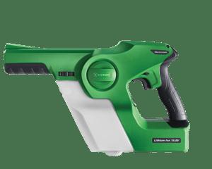 electrostatic sprayer for disinfectants