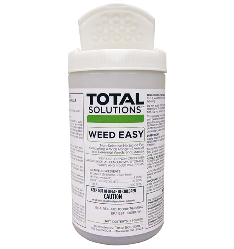 granular soil sterilant weed kill er with 4% bromacil