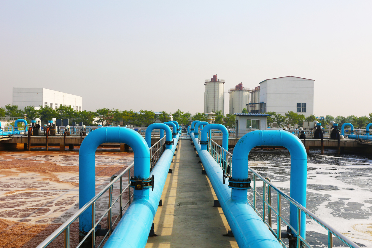 Wastewater treatment plant 1120