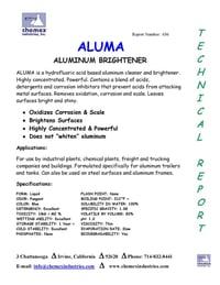 aluma aluminum brightener