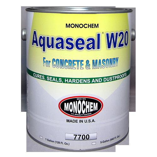 aquaseal w-20 concrete sealer