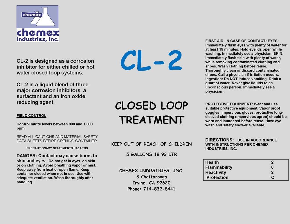 CL - 2 closed loop treatment