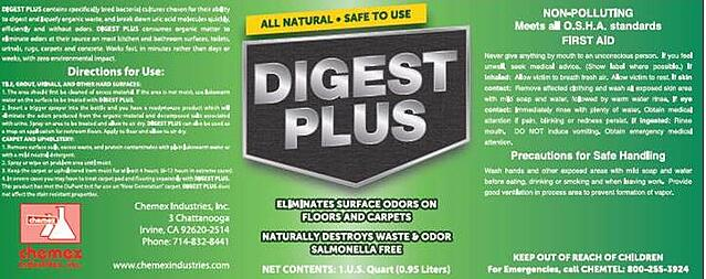 digest plus odor eliminator