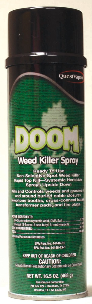 doom 2 4-d solvent based weed killer