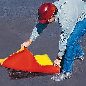 drain protector creates a positive seal that stops chemical spills every time
