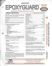 epoxyguard concrete protective coating