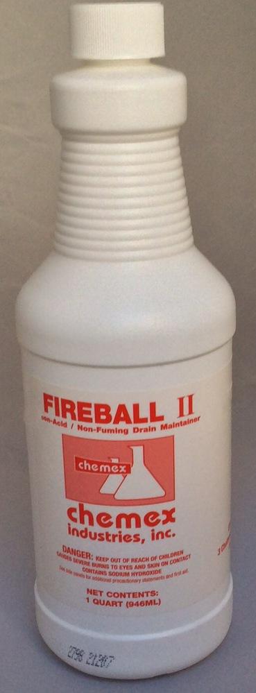 fireball 2 acid drain line opener