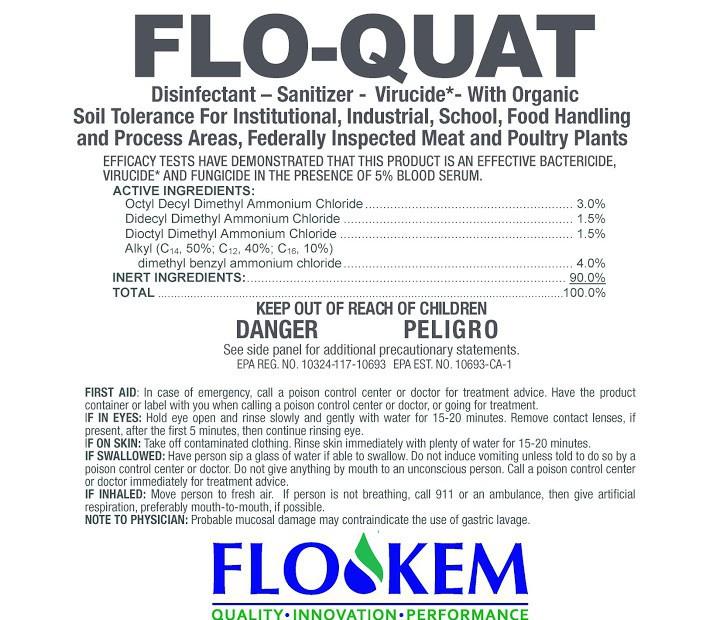 flo quat disinfect