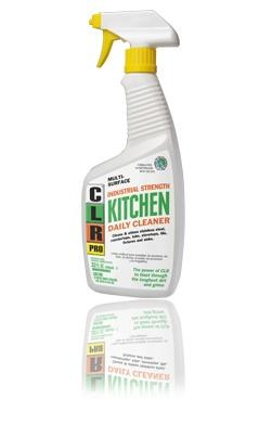 clr kitchen daily cleaner