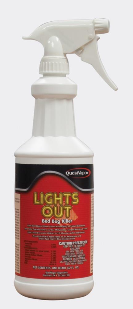 lights out bed bug killer