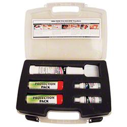pathogen compliance center, bsk tool with rx75, body fluid kit