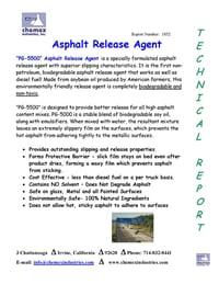 pg 5000 asphalt release agent