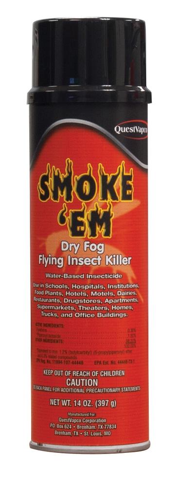 smoke em dry fog flying insect killer